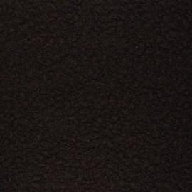 Boiled wool aspect fabric  - chocolate Maëlys x 10cm