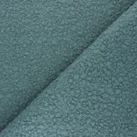 Boiled wool aspect fabric  - eucalyptus green Maëlys x 10cm