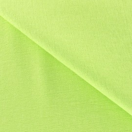 Viscose Fabric - Lime x 10cm