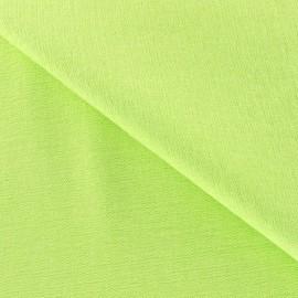Tissu Viscose Anis x10cm