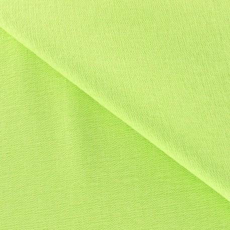 Viscose Fabric - Lime x 10cm