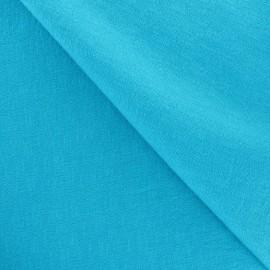 Tissu Viscose turquoise x10cm
