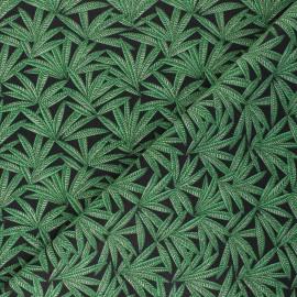 Cretonne cotton fabric - black Janaina x 10cm