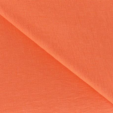 Viscose Fabric - Melon x 10cm