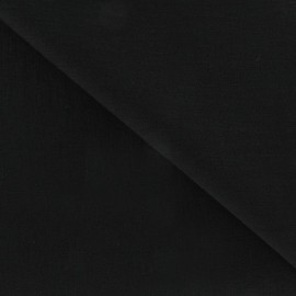 Tissu viscose noir x10cm