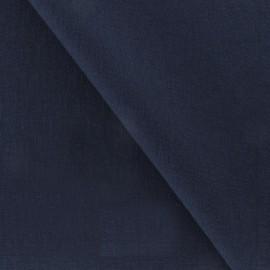 Tissu Viscose marine x10cm