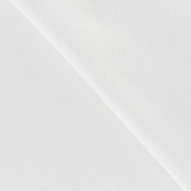 Viscose Fabric - White x 10cm