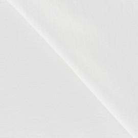 Tissu Viscose Blanc x10cm