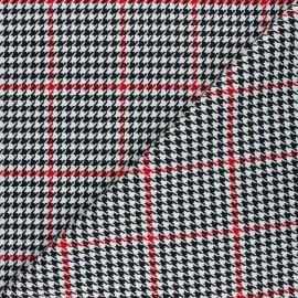 Polyviscose elastane fabric - white Clyde x 10cm