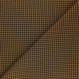 Tissu polyviscose élasthanne Carter - ocre x 10cm