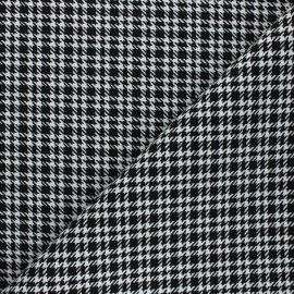 Polyviscose elastane fabric - white Coleen x 10cm