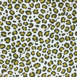 Poppy Jersey fabric - raw Imani x 10cm