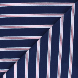 Jersey fabric - navy blue Aaron x 10cm