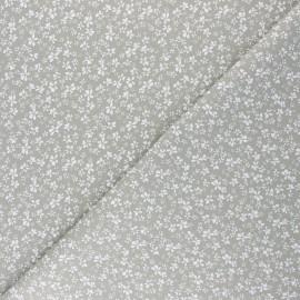 Tissu coton cretonne Difatti - tilleul x 10cm