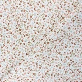 Tissu coton cretonne Eleoni - rose x 10cm