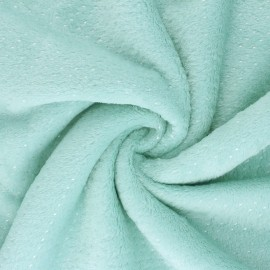 Security blanket soft - green mint Point d'argent x 10cm