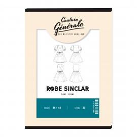 Dress sewing pattern - Robe Sinclar - Couture Générale