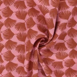 Tissu viscose Comea - rose thé x 10cm