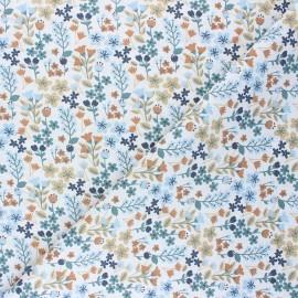 Cretonne cotton Fabric - beige Milly x 10cm