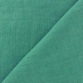 Tissu lin lavé Thevenon - vert d'eau x 10cm