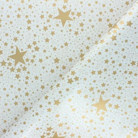 Tissu toile cirée Nova - blanc x 10cm