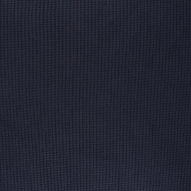 Knitted polyviscose fabric - night blue Morélie x 10cm