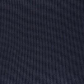 Tissu maille polyviscose Morélie - bleu nuit x 10cm