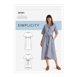 Dress sewing Pattern for Woman - Simplicty n°S9101