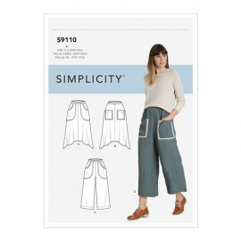 Patron Jupe et pantalon Femme - Simplicity n°S9110