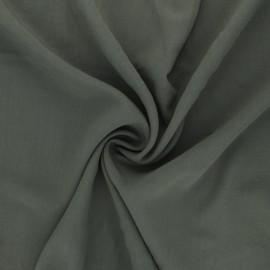 Tissu Viscose uni Simplicité - kaki x 10cm
