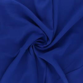Plain Viscose fabric - royal blue Simplicité x 10cm