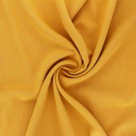 Plain Viscose fabric - mimosa yellow Simplicité x 10cm