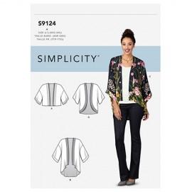 Patron Kimono Femme - Simplicity n°S9124