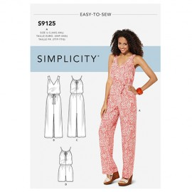 Jumpsuit sewing Pattern for Woman - Simplicity n°S9125