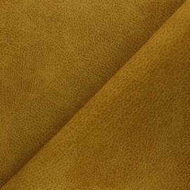 Recycled leather - ochre Pawnee x 10cm