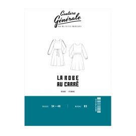 Dress Sewing Pattern Couture Générale - La Robe au Carré