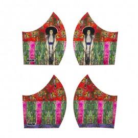 Art mask cotton fabric - Klimt