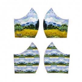 Art mask cotton fabric - Vincent Van Gogh