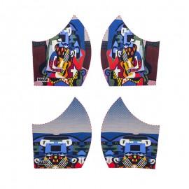 Art mask cotton fabric - Pablo Picasso