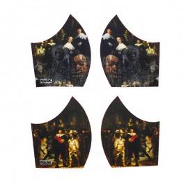 Art mask cotton fabric - Rembrandt