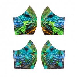 Texture mask cotton fabric - Cameleon