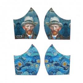Art mask cotton fabric - Van Gogh