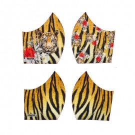 Tissu pour masque Texture - Tigre