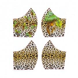 Texture mask cotton fabric - Leopard