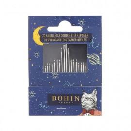Carnet de 20 aiguilles - Cabinet de curiosité Bohin