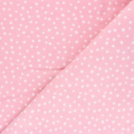 Cloud 9 Flannel Fabric Northerly - pink Soft Dots x 10cm