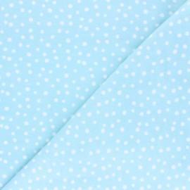 Tissu Flanelle Cloud 9 Northerly - Soft Dots - bleu glacier x 10cm