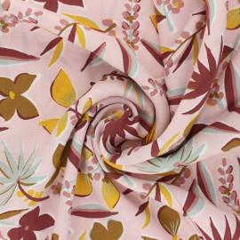 Challis By Penelope® Viscose fabric - pale pink Miri x 10cm