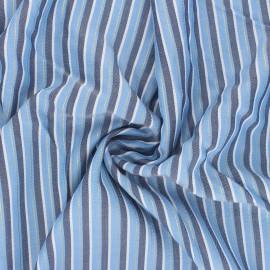 Tissu viscose Luiz - bleu x 10cm