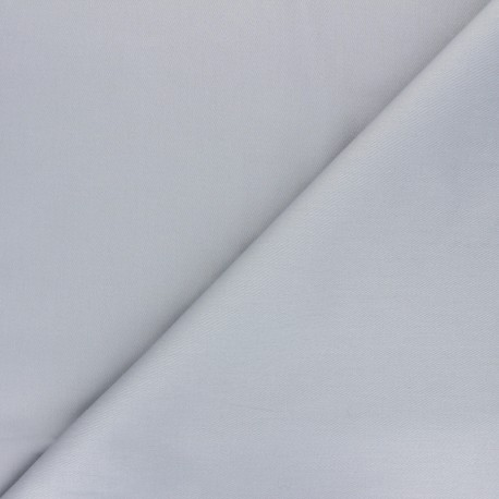 Tissu Gabardine élasthanne mat Vibrance - gris souris x 10cm